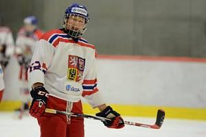 Radek Kučeřík byl na světovém šampionátu dvacítek nejvytěžovanějším hokejistou českého týmu.