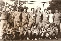 Mladí národní házenkáři Veselí nad Moravou se v roce 1976 stali v Bakově nad Jizerou přeborníkem ČSR.