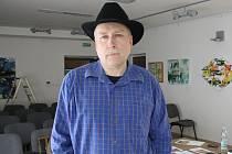 Lubor Drgáč pochází z Mutěnic a zabývá se abstraktní malbou.