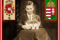 Vnuk poslední českého krále Karel Habsburský.