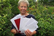 Bývalá vedoucí mutěnické pošty Magdaléna Vaculovičová.