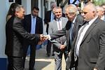 Druhý den prezidentské návštěvy Jihomoravského kraje zavítal Miloš Zeman také do Kozojídek a Veselí nad Moravou.