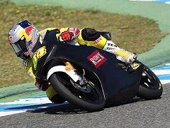 Rohatecký závodník Jakub Kornfeil je na testech ve španěslkém Jerezu.