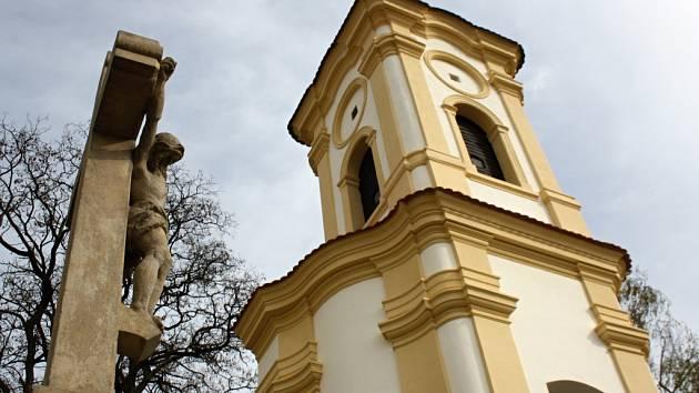 Kaple Svatého Rocha ve Strážnici.