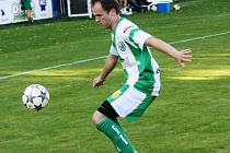 Bzenecký forvard Václav Matula (na snímku) se sice na hřišti v Boskovicích střelecky neprosadil, Slovan i přesto na Blanensku vyhrál 2:1.