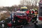 Vážná dopravní nehoda se stala v úterý dopoledne na silnici mezi Mutěnicemi a Hodonínem.