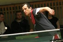 Nejúspěšnějším hráčem Vracova v první lize byl mladý stolní tenista Michal Trcala.