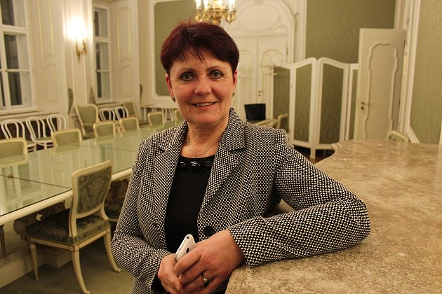 Senátorka Anna Hubáčková zRatíškovic.