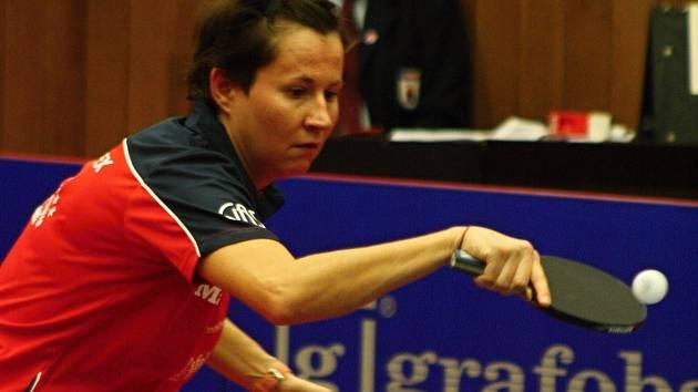 Zkušená stolní tenistka Renáta Štrbíková.