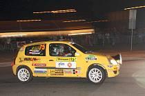 Rohatecký jezdec Jan Lunga startoval na Barum rally ve třídě 8.
