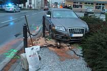 Tři poškozená auta zůstala po nehodě, která se stala ve čtvrtek odpoledne ve Bzenci. Událost má zřejmě na svědomí dvacetiletá řidička jednoho z nich.