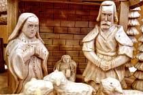 Výstava vánočního pečiva a aranžování v Prušánkách v prostorách tamního kulturního domu.