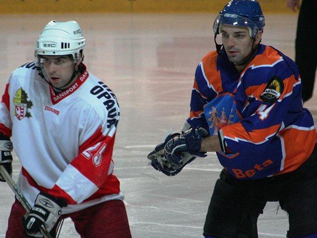 2. liga, východ: SHK Hodonín vs. Slezan Opava (v bílém)