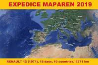Martin Vaščešen z Veselí nad Moravou s kamarádem Pavlem Vyplerem z Kolína podnikli okružní poznávací cestu po jihozápadní Evropě. Expedici Maparen 2019 absolvovali s téměř padesát let starým autem, Renaultem 12.