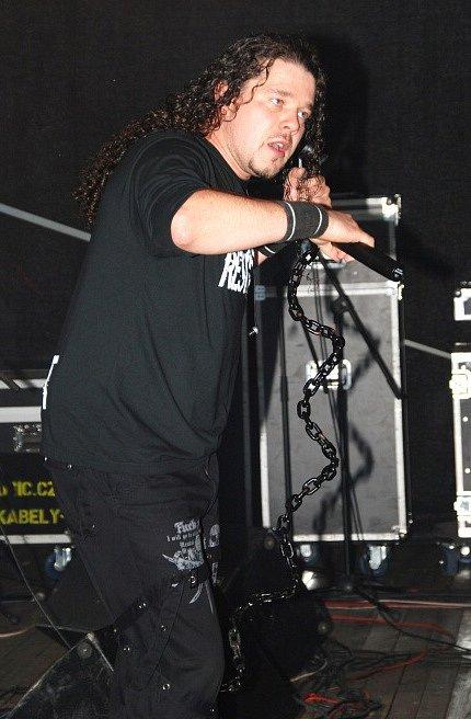 Arakain na strážnickém Rockfestu.