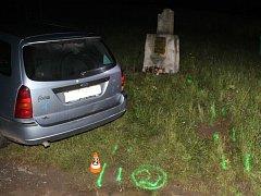 Pětatřicetiletý muž ve středu před půlnocí poškodil sakrální památku u silnice mezi rekreační oblastí Lučina a Tvarožnou Lhotou. Nadýchal jedno promile alkoholu.