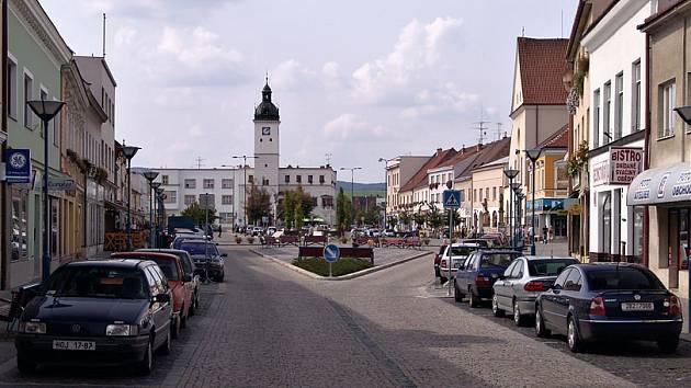 Náměstí v Kyjově - ilustrační foto.