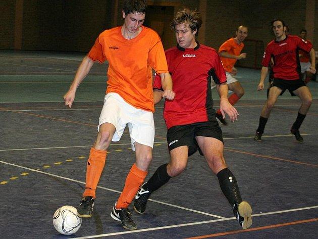 Futsal, krajský přebor: Oranjes Dubňany vs. K5 Brno