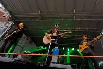 Tahákem programu byl koncert zpěváka Petra Bendeho s kapelou.