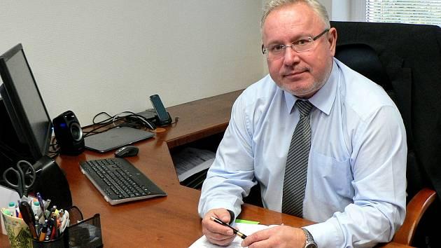 Ředitel společnosti Vodovody a kanalizace Hodonín Pavel Koubek.