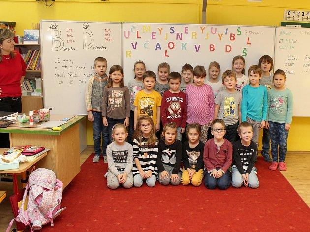 Žáci I.C ze Základní školy Vančurova vHodoníně.
