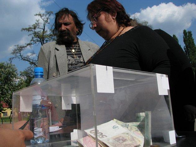 Romové demonstrovali v Hodoníně