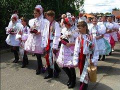 Mezinárodnímu folklornímu festivalu Strážnice 2011 předcházel festival dětských souborů ve Starém Poddvorově.