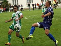 Bzenečtí fotbalisté remizovali v pondělní dohrávce 17. kola divize D na hřišti Staré Říše 3:3.