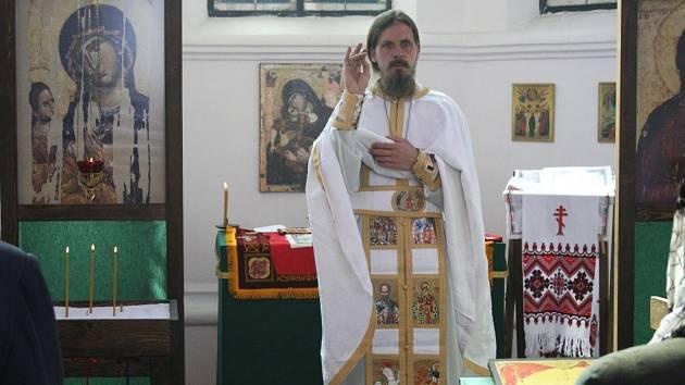 Paschu, nebo-li Velikonoce slavili pravoslavní věřící v Hodoníně
