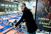 Mezinárodní turnaj v Hodoníně v pátek navštívila i česká reprezentační jednička Iveta Vacenovská (na snímku).