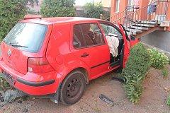 Na Hodonínsku při honičce s policisty boural řidič