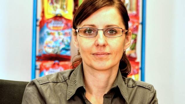 Finanční ředitelka společnosti Milena Rusnoková.