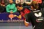 Stolní tenistky Hodonína budou i v příští sezoně spoléhat na výkony zkušené hráčky Renáty Štrbíkové.
