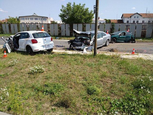 Tragická nehoda vKyjově.
