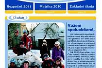 Obálka lednového čísla Ždánického zpravodaje.