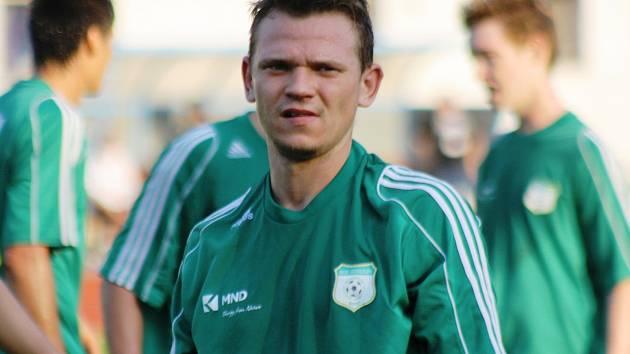 Hodonínský útočník Marek Ondryáš se stejně jako jeho spoluhráči proti Havlíčkovu Brodu střelecky neprosadil.