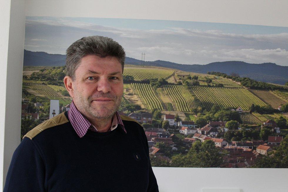 Vinař Štěpán Maňák ze Žádovic.