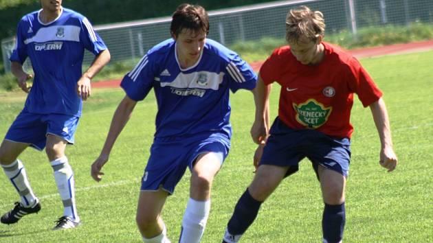 Fotbalisté Kyjova porazili ve 23. kole krajského přeboru Boskovice 2:0. Na výhře se dobrým výkonem podílel mladík Zdeněk Bartoň.