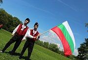 Zástupci Bulharska i České republiky společně uctili na Slovanském hradišti v Mikulčicích patrony Evropy - svaté Cyrila a Metoděje.