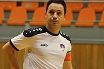 Kapitán futsalistů Tanga Dimo Chadzidis zatím neví, zda bude v Hodoníně pokračovat.