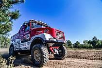 Aleš Loprais na hodonínském Pánově testoval Pragu Lady pro další ročník Rallye Dakar.