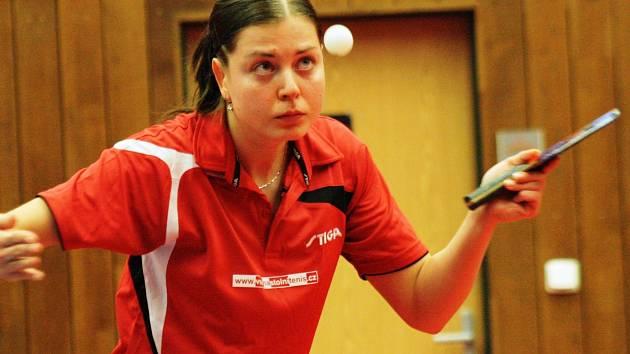 Stolní tenistka Kateřina Pěnkavová už tři roky patří mezi nejúspěšnější sportovce na Hodonínsku.