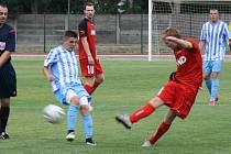 FK Hodonín (v červeném), ilustrační foto