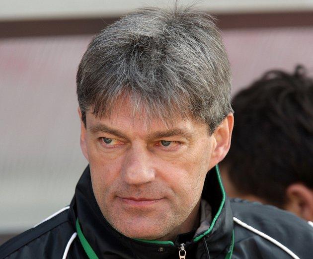 Vladimír Hruška. Nyní již bývalý trenér Mutěnic.