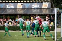 Fotbalistům Bzence se v tomto ročníku daří na hřištích soupeřů.