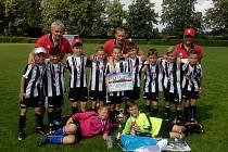Tým FK Hodonín U11 získal na 32. ročníku mezinárodního turnaje tří zemí v Lomnici nad Popelkou druhé místo.