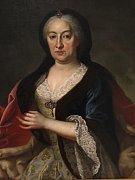 Na snímku je obraz princezny Marie Eleonory z Harrachu, rozené z Lichtenštejna. Narodila se 31. 12. 1703 a zemřela 18. 7. 1757.