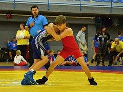 Mladí hodonínští zápasníci vybojovali na Memoriálu Františka Červína v Havlíčkově Brodě stříbrný pohár.