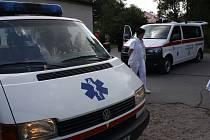 Hodonínská nemocnice představila novou sanitku.