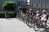 Dvacet rekreačních cyklistů a tři družstva soutěžili na Otevřeném mistrovství Horňácka O lipovskou šlapku.
